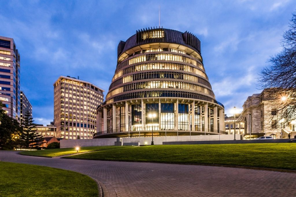 Beehive Nz Government